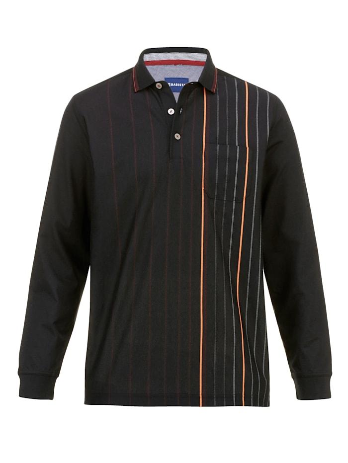 BABISTA Poloshirt van eersteklas materiaal, Zwart