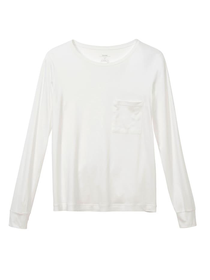 Calida Pyjamashirt, Off-white