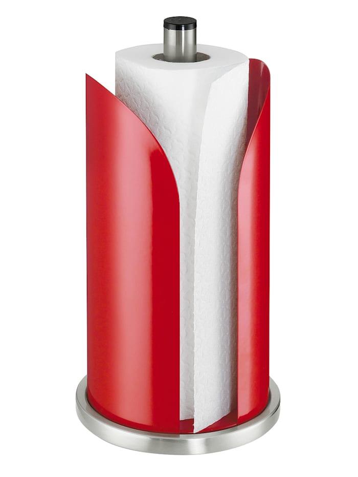 Küchenprofi Support à rouleau papier ménage, Rouge