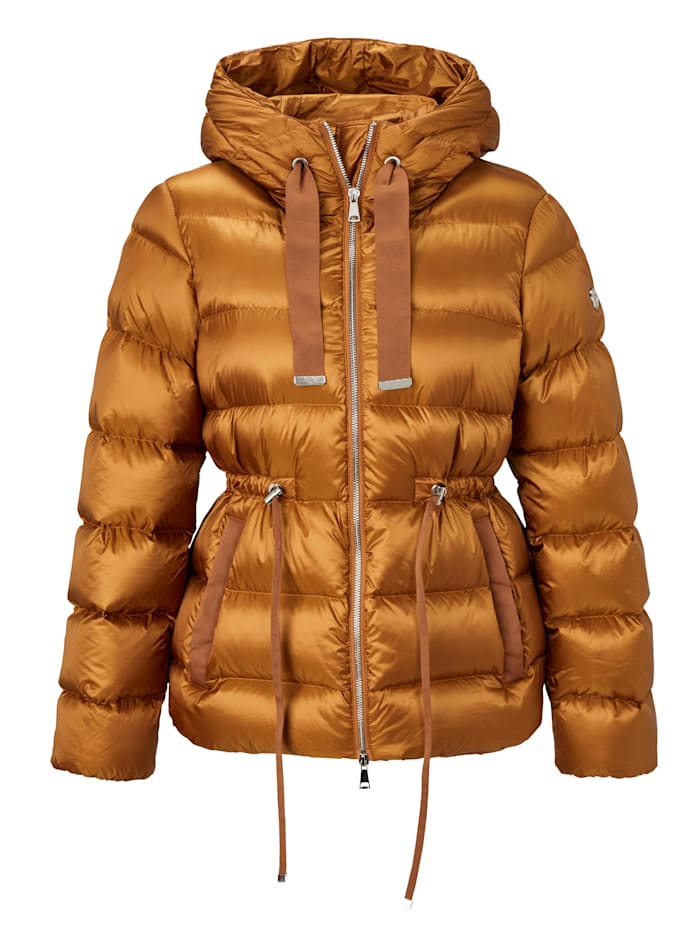 rich&royal Steppjacke, Braun