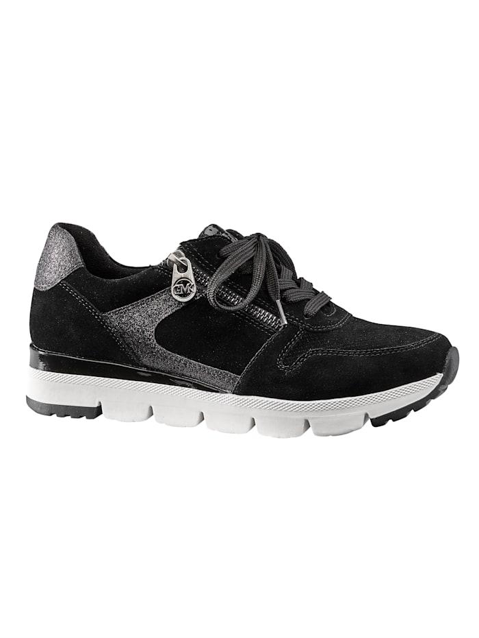 Sneaker met uitneembaar voetbed