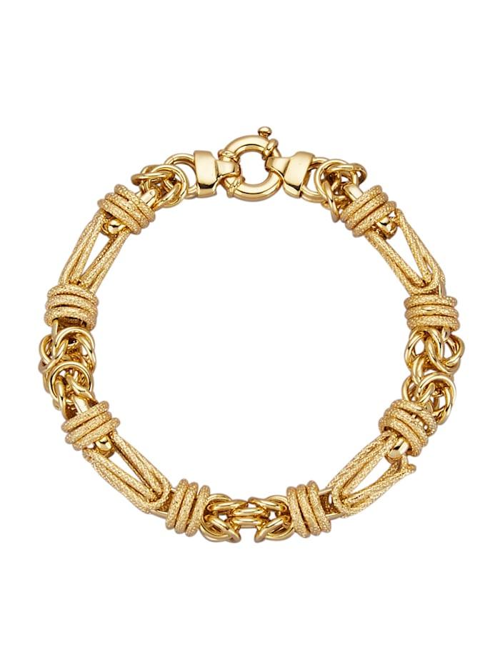 Diemer Gold Königsarmband, Gelbgoldfarben