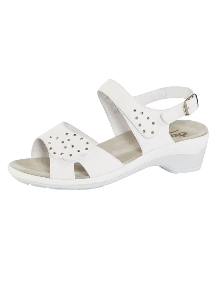 Semler Sandale, Weiß