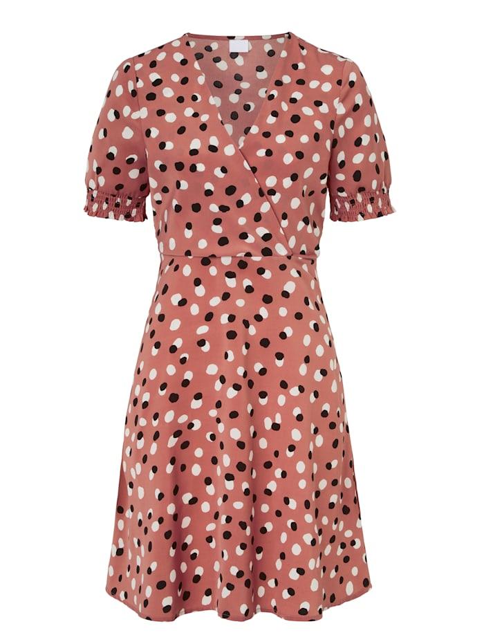 REKEN MAAR Kleid, Rosé