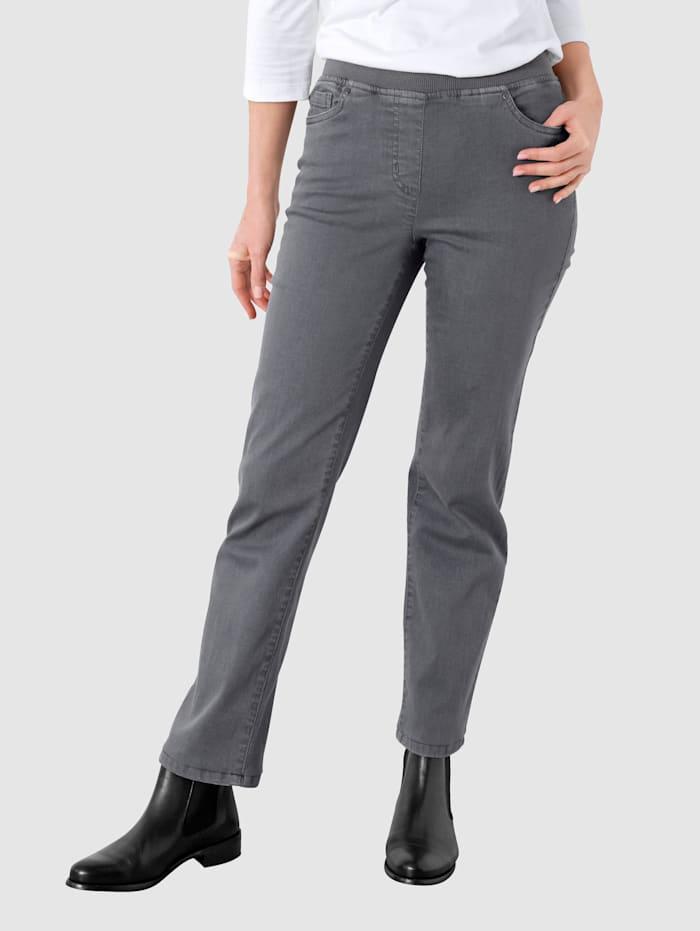 Paola Jeans med rette ben, Grey