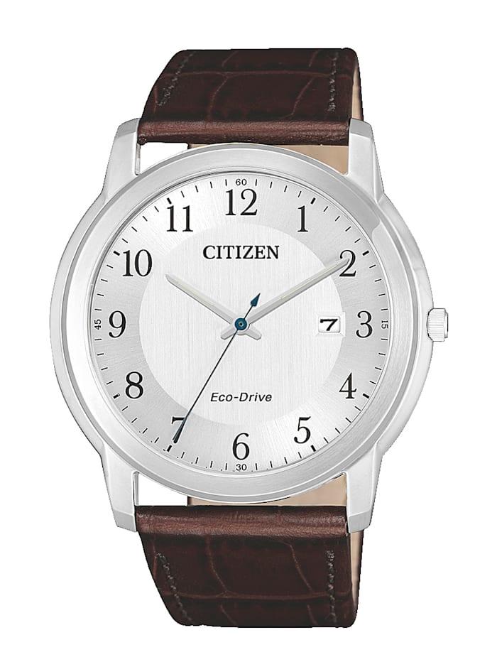 Citizen Herrenuhr,  Eco-Drive AW1211-12A, Braun