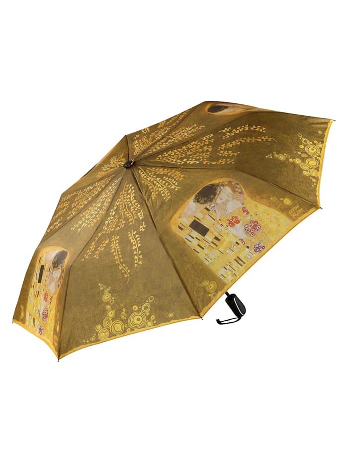 """Goebel Taschenschirm Gustav Klimt - """"Der Kuss"""""""
