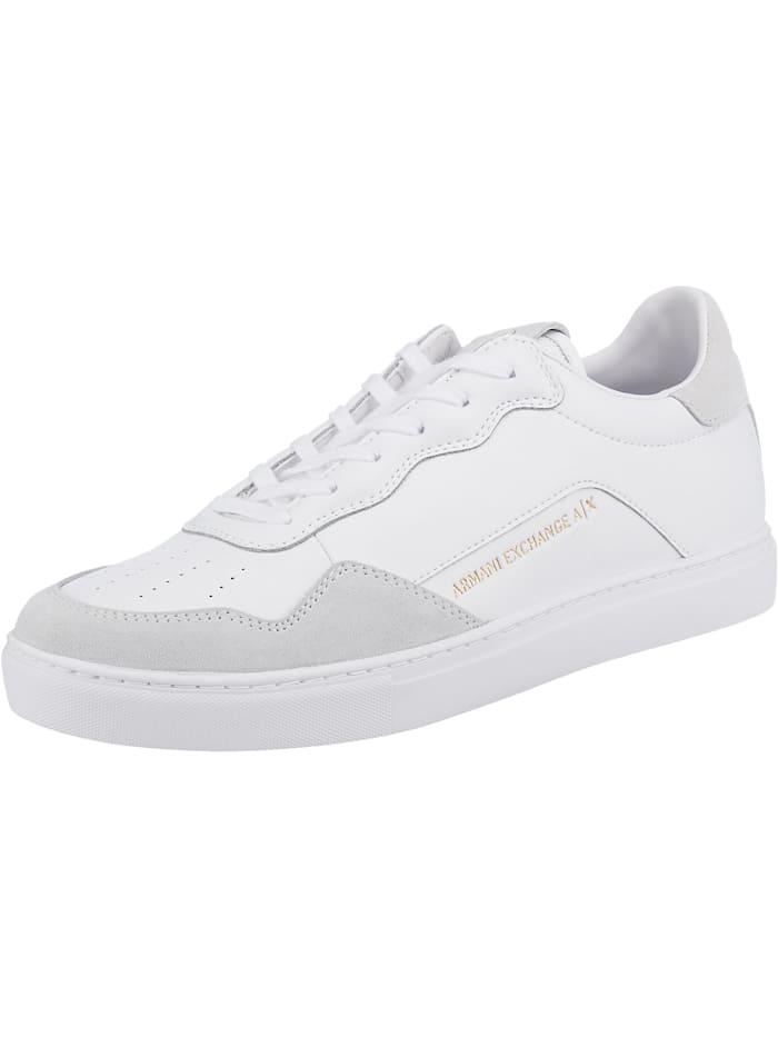 Armani Exchange Sneakers Low, weiß