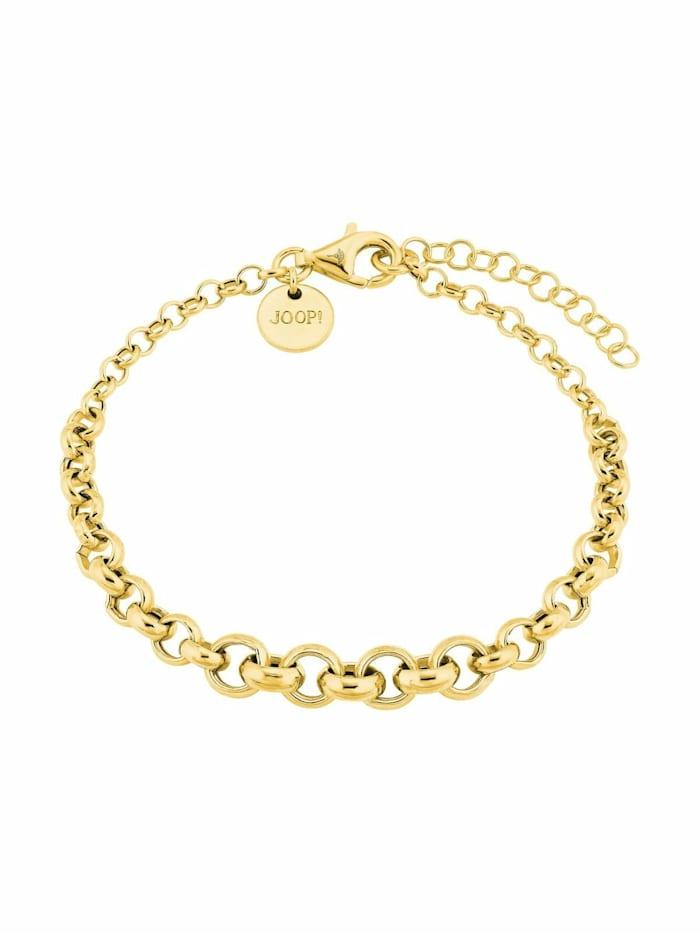 JOOP! Armband für Damen, Sterling Silber 925, Motiv, Gold