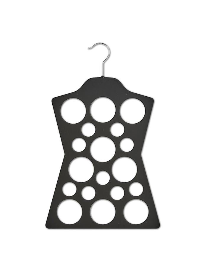 HTI-Living Tücherhalter Kleiderbügel, Schwarz