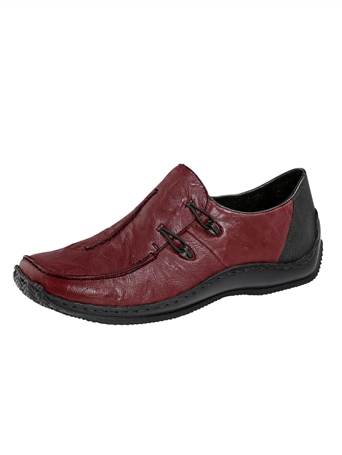 Rieker Slip-on shoes, Bordeaux