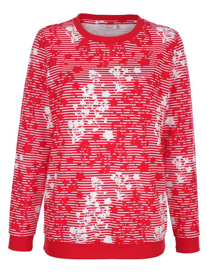 Sweatshirt met modieus dessin