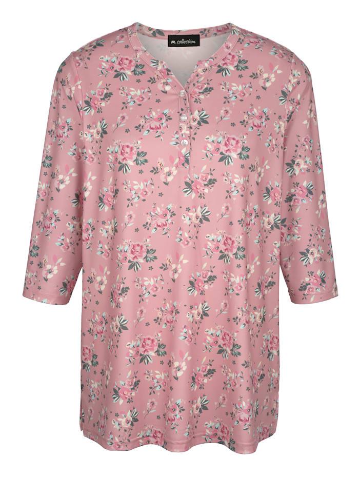 Shirt in floralem Druckmuster