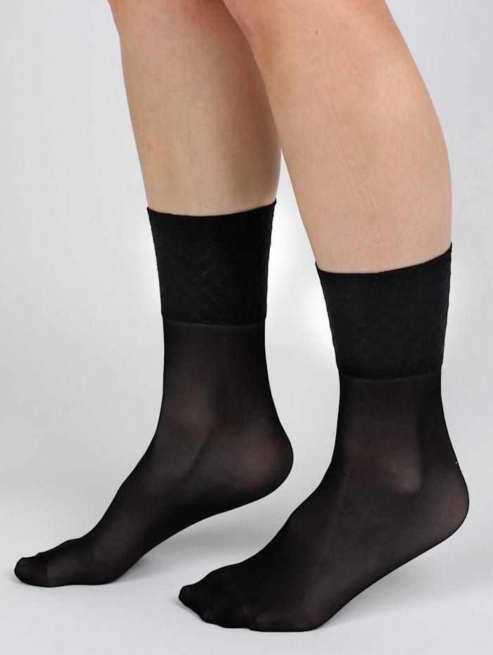 GHZ Sokken 5 paar, Zwart
