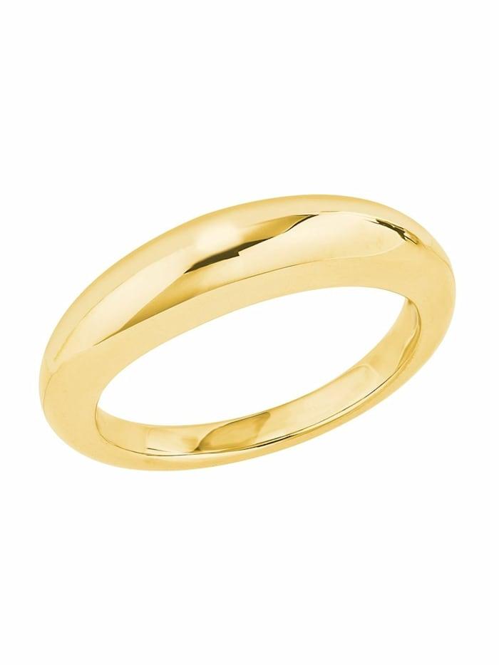 JOOP! Ring für Damen, Sterling Silber 925, Gold