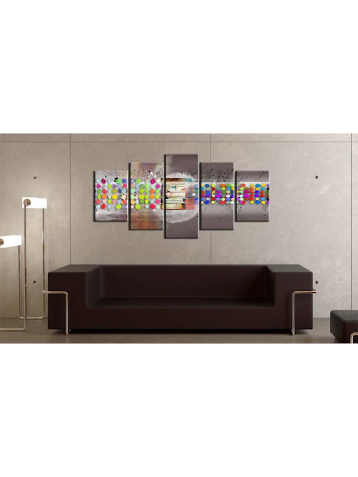 Wandbild Abstract (gepunktet)