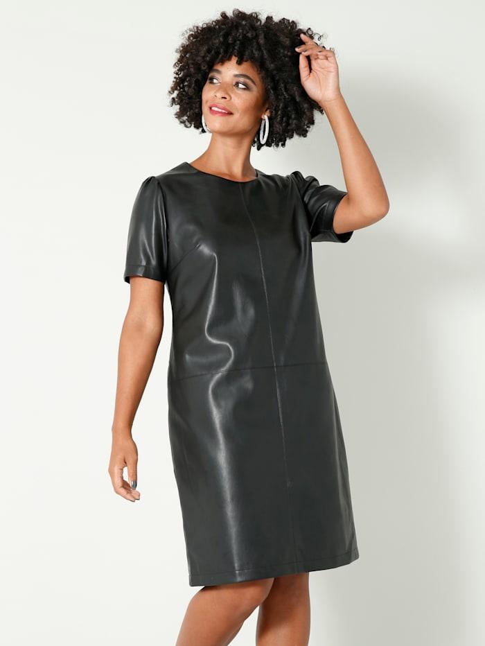 Angel of Style Robe à découpes devant et dos, Noir