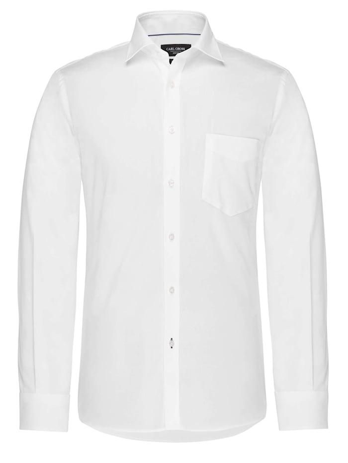 Carl Gross CG SV-Regular Hemd, Weiss