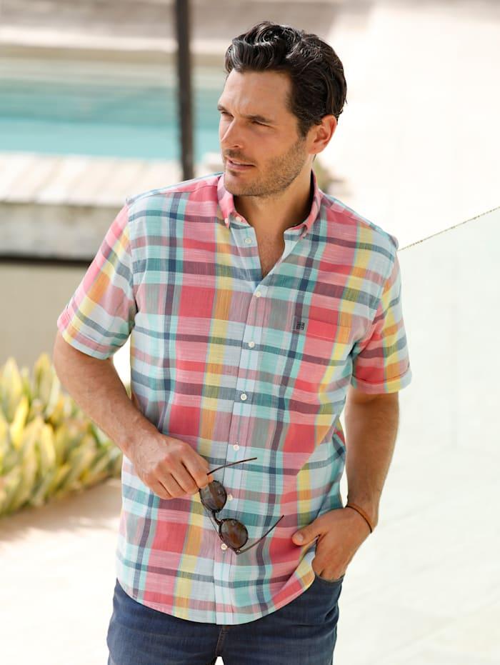 BABISTA Hemd in einer leichten Sommerqualität, Koralle/Mintgrün