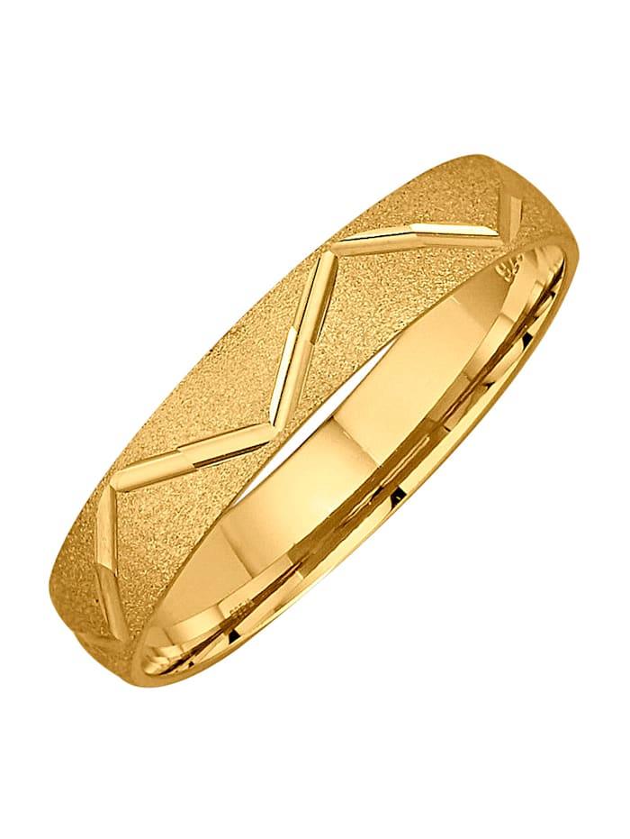 Harmony Trouwring in goudkleur, Geelgoudkleur