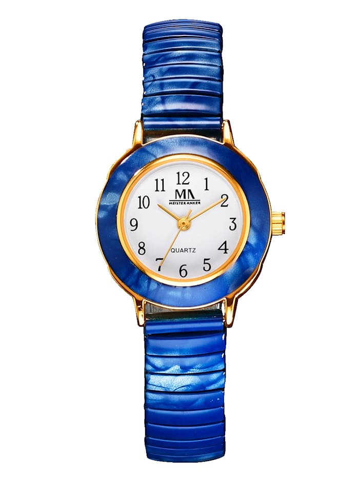 Women's quartz watch with pull strap