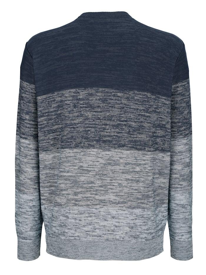 Pullover in Dégradé Optik