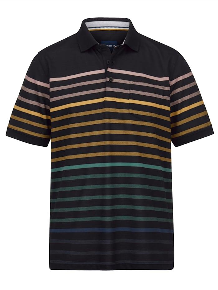 BABISTA Polo dans une matière aux propriétés particulières, Multicolore
