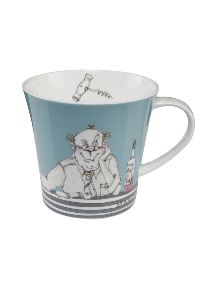 """Goebel Goebel Coffee-/Tea Mug Barbara Freundlieb - """"Männer sind wie Wein"""", Männer sind wie Wein"""