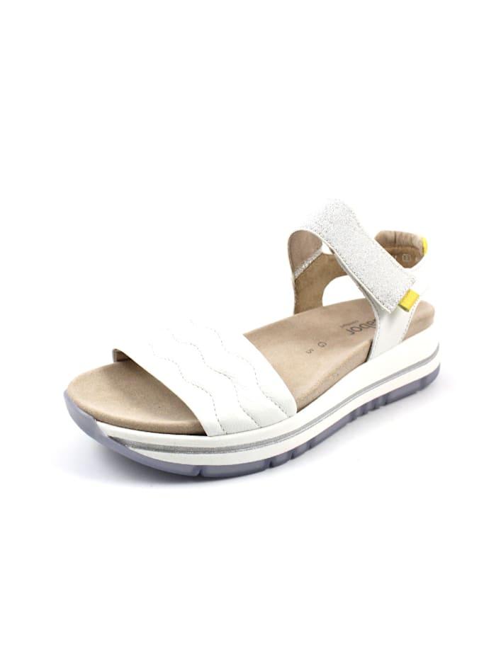 Gabor Sandale Sandale, weiß
