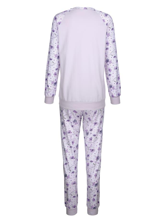 Pyjamas med raglanärm