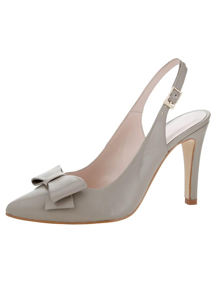 Slingback shoes Made of soft nappa leather