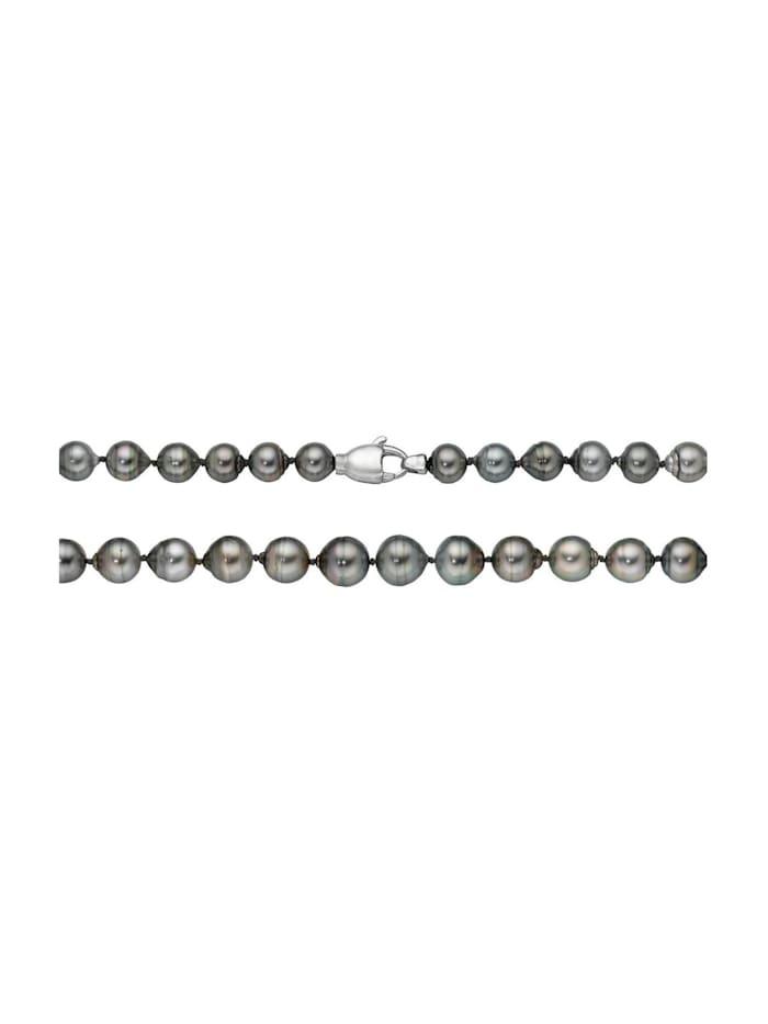 CHRIST Pearls CHRIST Pearls Damen-Kette 925er Silber Tahiti, perlmutt