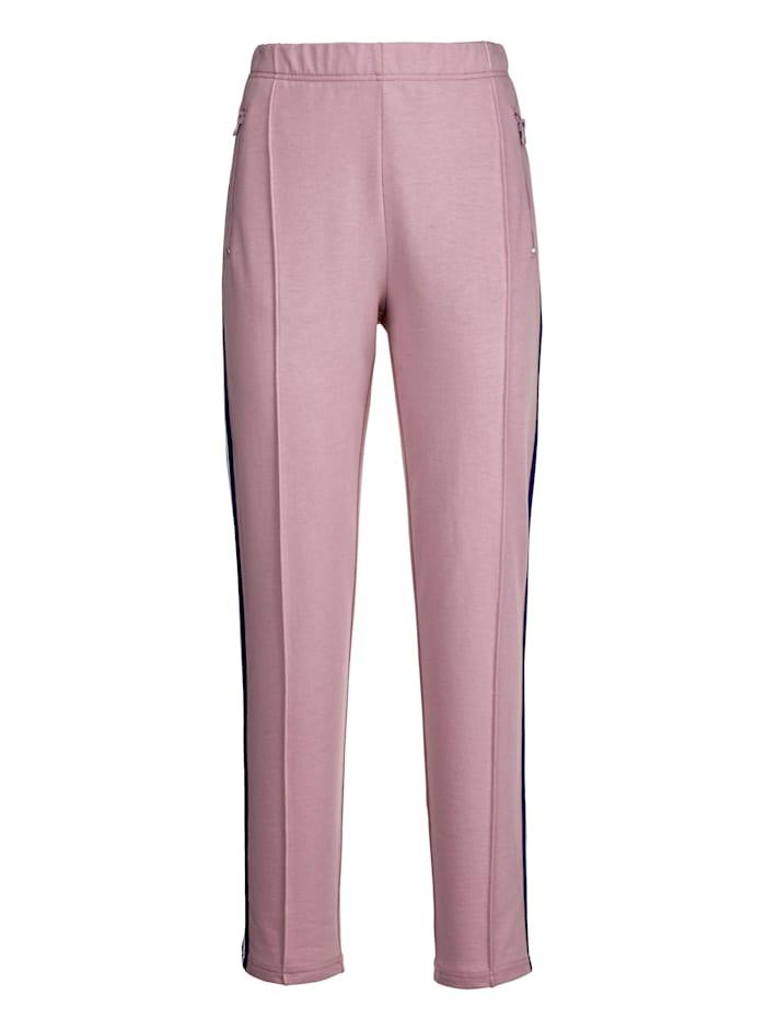 Pantalon de loisirs à ceinture en tissu