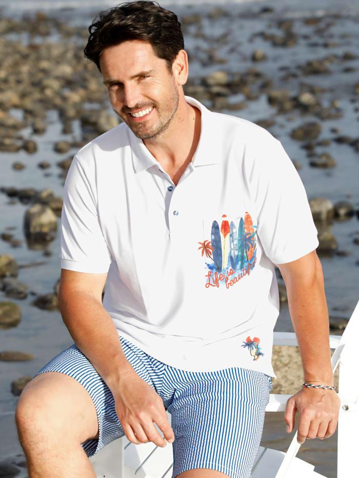 BABISTA Poloshirt mit 1 Brusttasche, Weiß