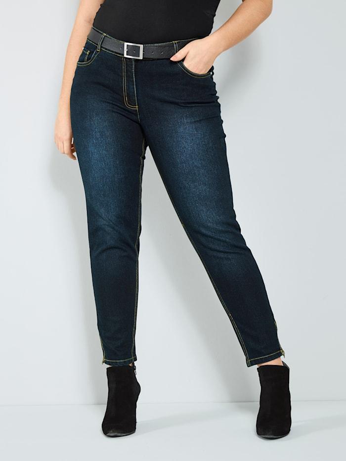 Sara Lindholm Jeans, Donkerblauw