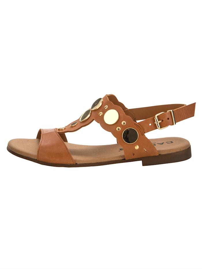 Sandale mit edler Verzierung