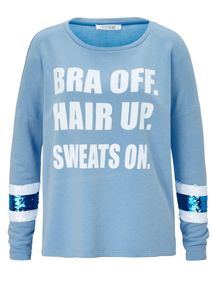 Cockaigne Sweater, Blau
