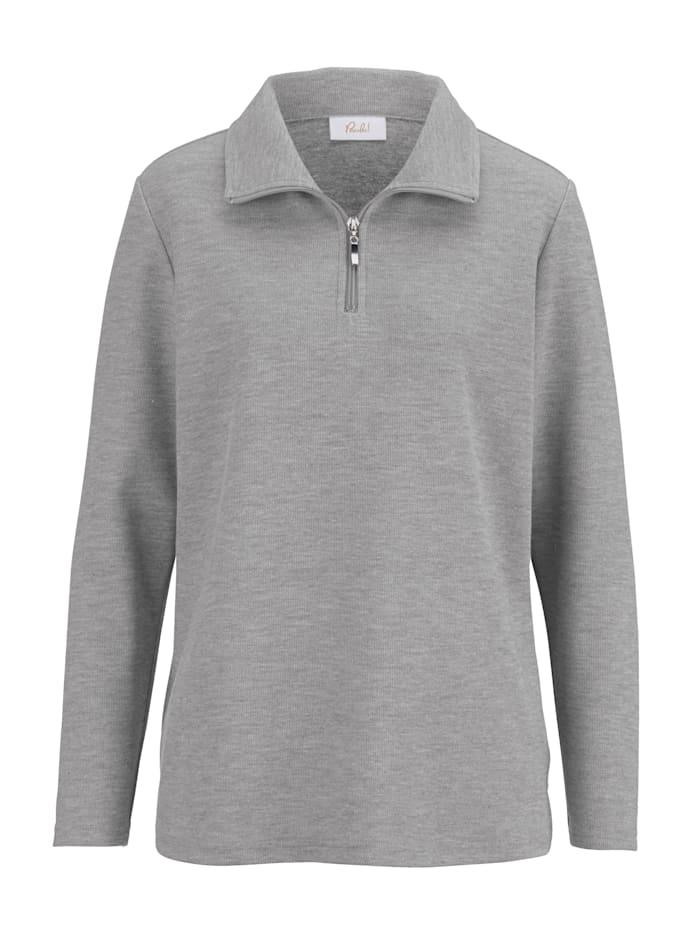 Sweat-shirt zippé