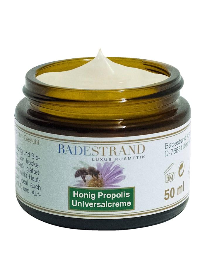 Honing-propoliscrème met natuurlijke bestanddelen, wit