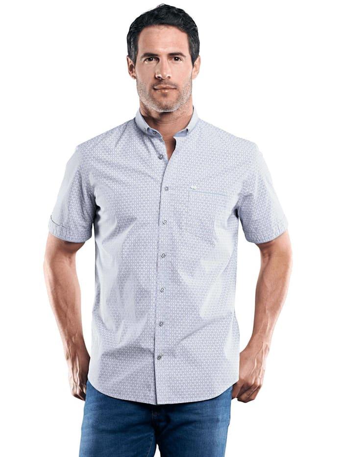 Engbers Dezent gemustertes Hemd, Royalblau