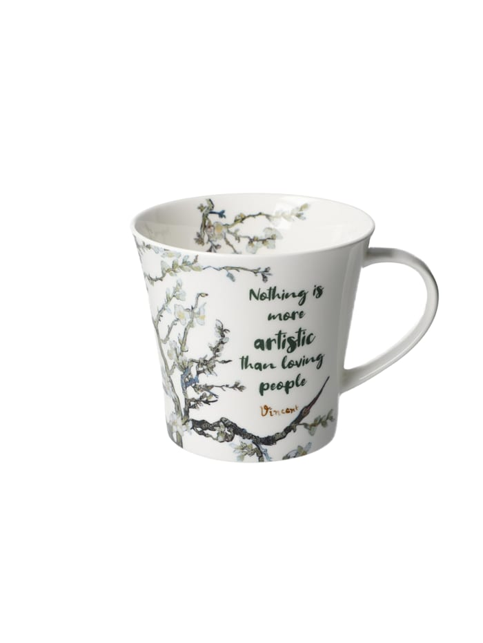 Goebel Goebel Coffee-/Tea Mug Vincent v. Gogh - Nothing is more..., Bunt
