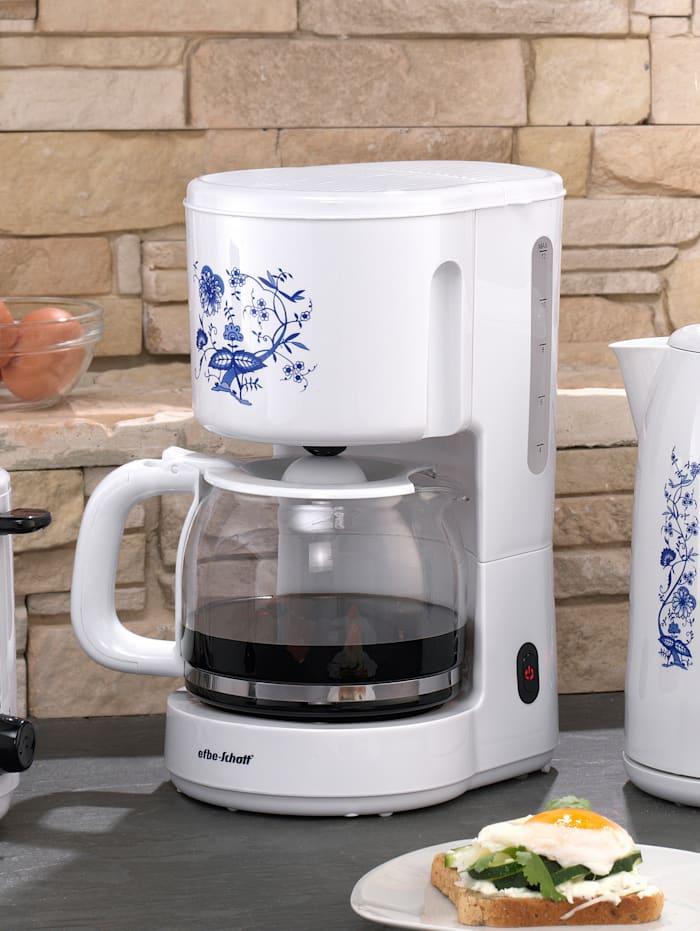 Kaffeeautomat SC KA 1080.1 Z, weiß mit blauem Zwiebelmuster-Dekor