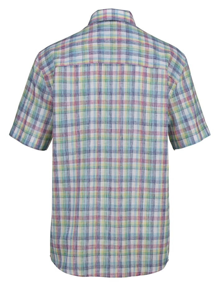Overhemd van zomers materiaal