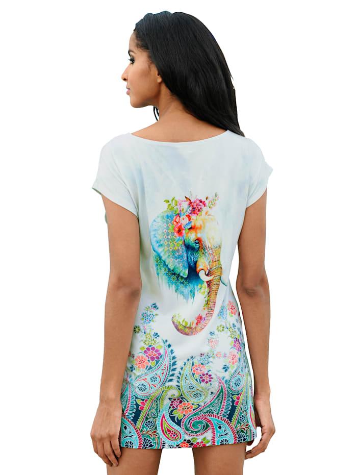 Shirt met olifantenprint