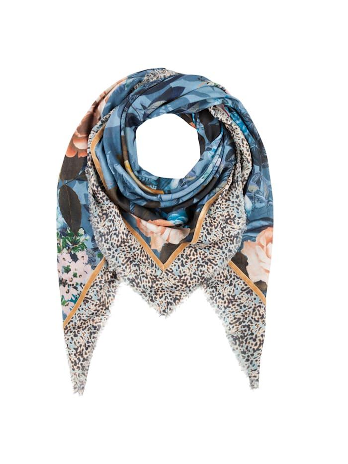 Codello Premium Rosen-Tuch aus Baumwolle und Modal, jeans blue