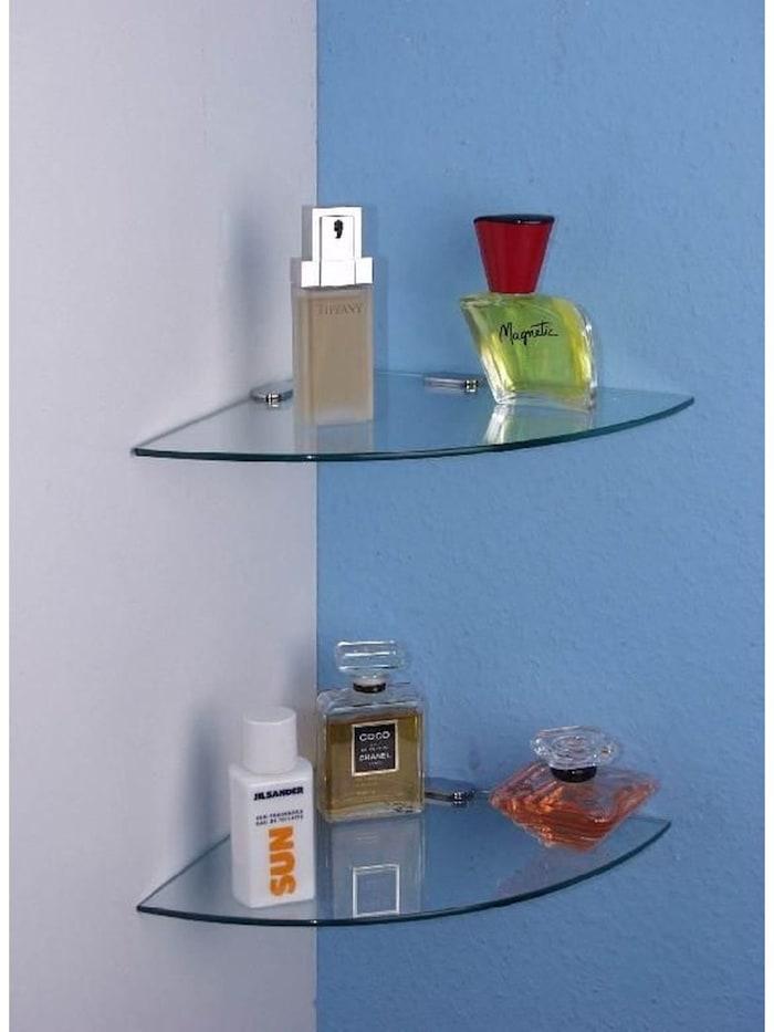 Eck-Glasböden (2 Stück) Herry