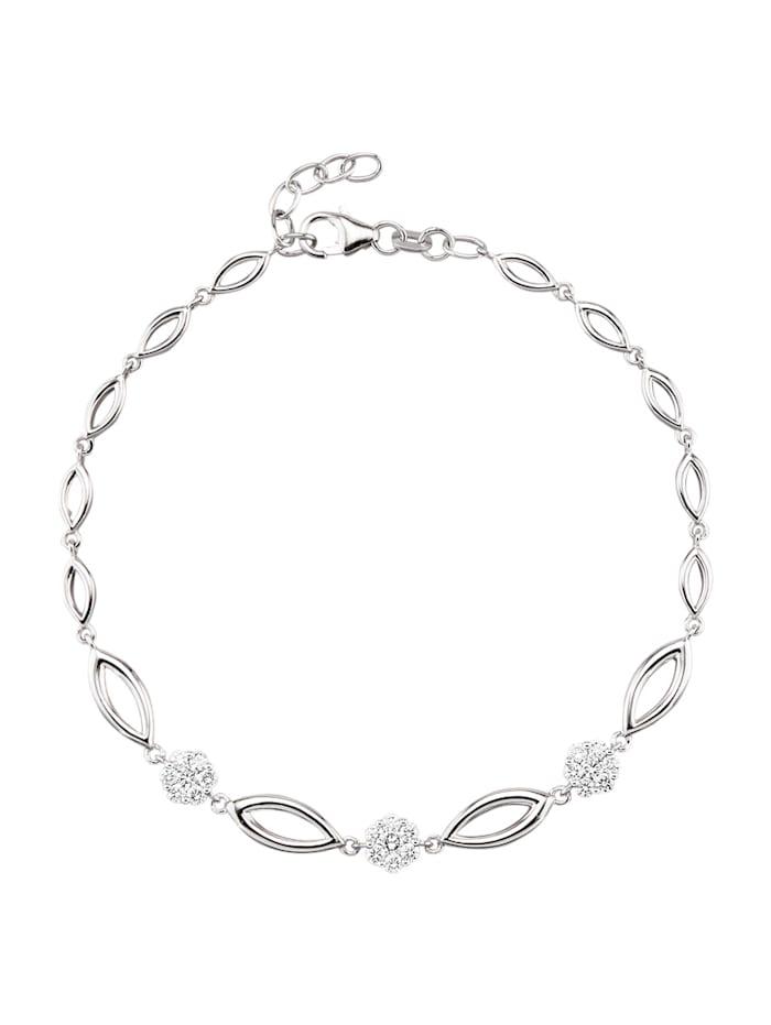 Diemer Highlights Armband, Silberfarben
