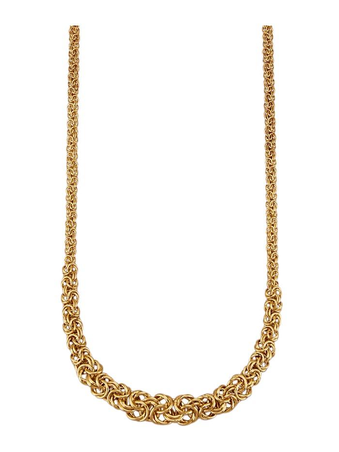 Königskette in Gelbgold 375, Gelbgoldfarben