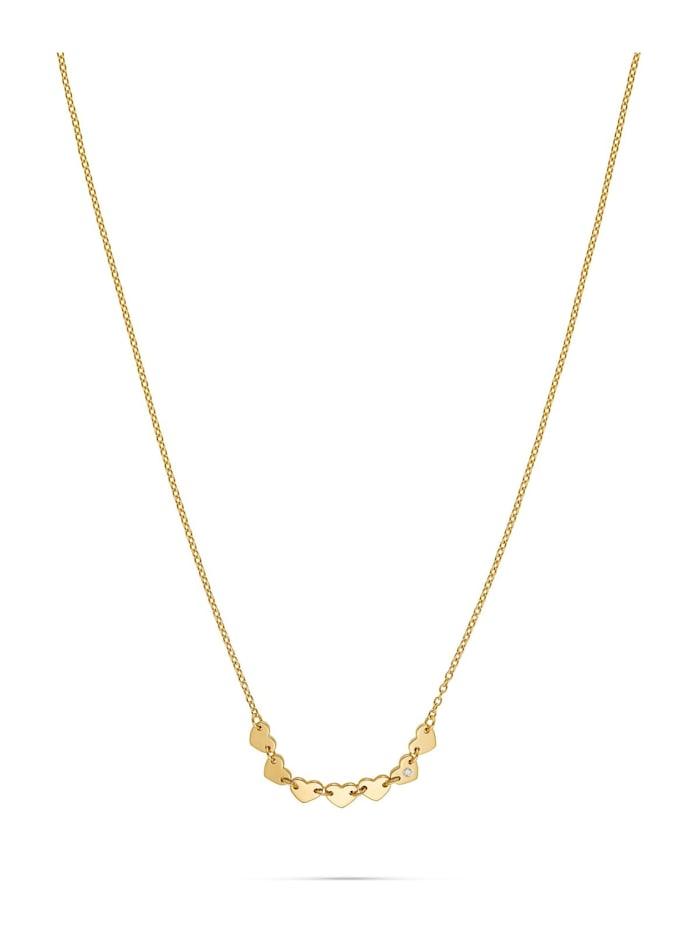 Guido Maria Kretschmer Guido Maria Kretschmer Damen-Kette 925er Silber 1 Diamant, gelbgold