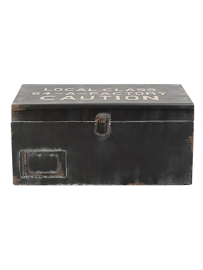 Boltze Deko-Koffer-Set, 2-tlg., schwarz